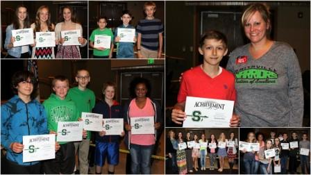 Smithville Middle School Students Recognized at May Board of Education Meeting