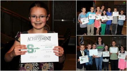 Smithville Missouri Board of Education May Upper Elementary recognition