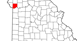 Clay County Missouri Map