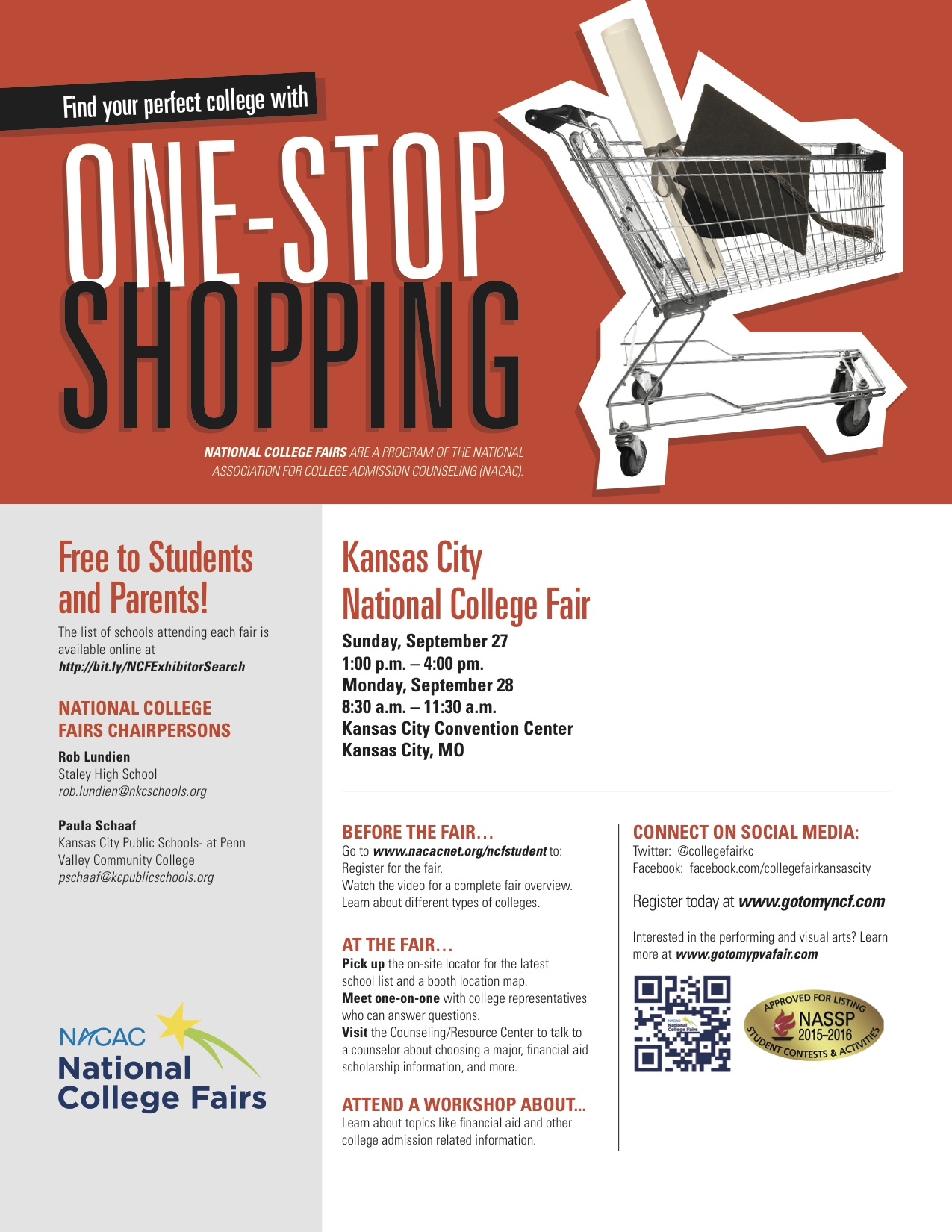 nacac college fair coming to kansas city the northland news