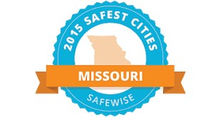 2015 Safewise Safest Cities in Missouri