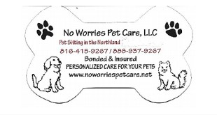 No Worries Pet Care Featured Logo